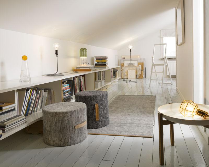 Idee per trasformare il corridoio in libreria d la for Scarpiera bassa