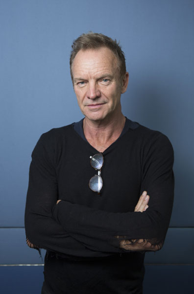 Sting on the rock