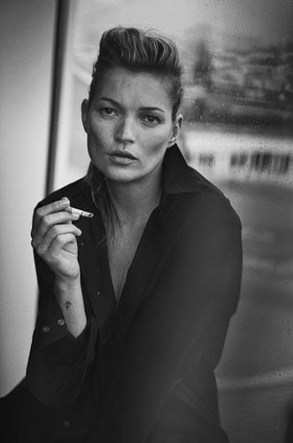 Kate Moss, Paris, 2015 - Published in VOGUE ITALIA© Peter Lindbergh - Courtesy of Peter Lindbergh, Paris / Gagosian Gallery