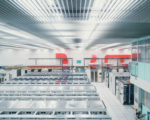 Il Computing Centre del Cern, dove vengono conservati tutti i dati scientifici e amministrativi.