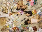 Lo spreco alimentare in foto