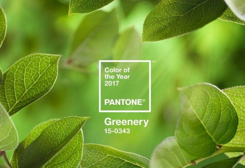 2017: sarà una primavera greenery