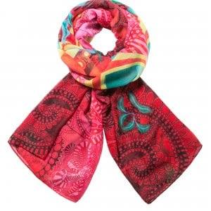 Il foulard  a tutto colore