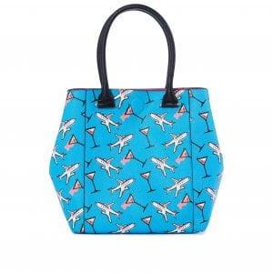 La borsa shopping con disegni