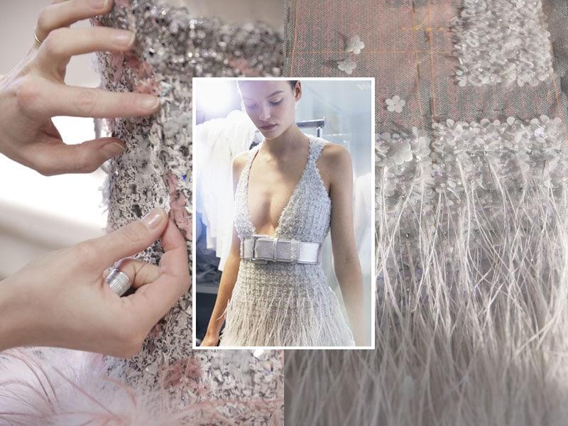 Nelle foto del servizio, il bon ton anni '20 di Chanel Haute Couture S/S 2017.