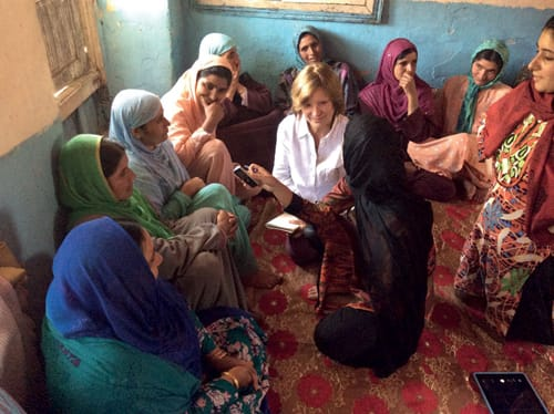 """Un giorno di """"lezione"""" a Srinagar, in India."""