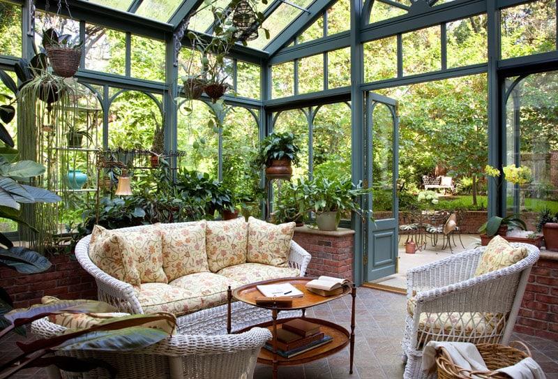 Giardino Dinverno In Casa : Giardini d inverno da sogno per contemplare la natura tutto l