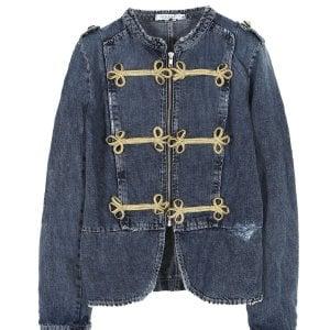 La giacca militare in denim