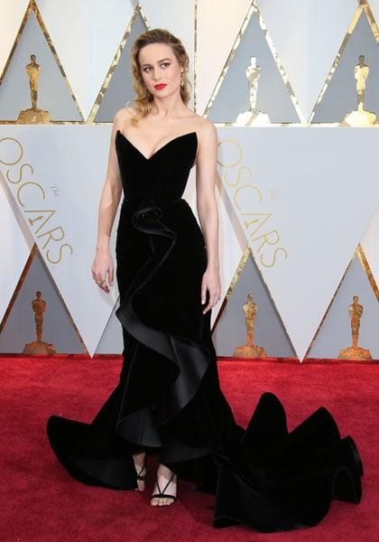 Brie Larson agli Oscar 2017