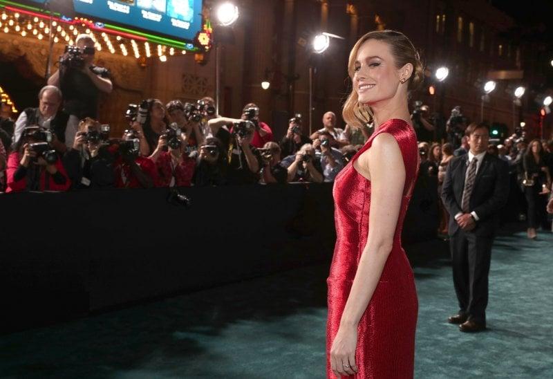 Brie Larson, 27 anni, attrice e cantante. Nel 2016 ha vinto l'Oscar da protagonista per il film Room. Qui alla prima cinematografica del film