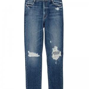 Il pantalone con vita asimmetrica