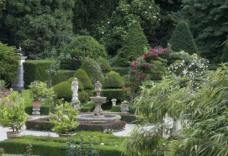 Il giardino di Villa Pisani Bolognesi Scalabrin