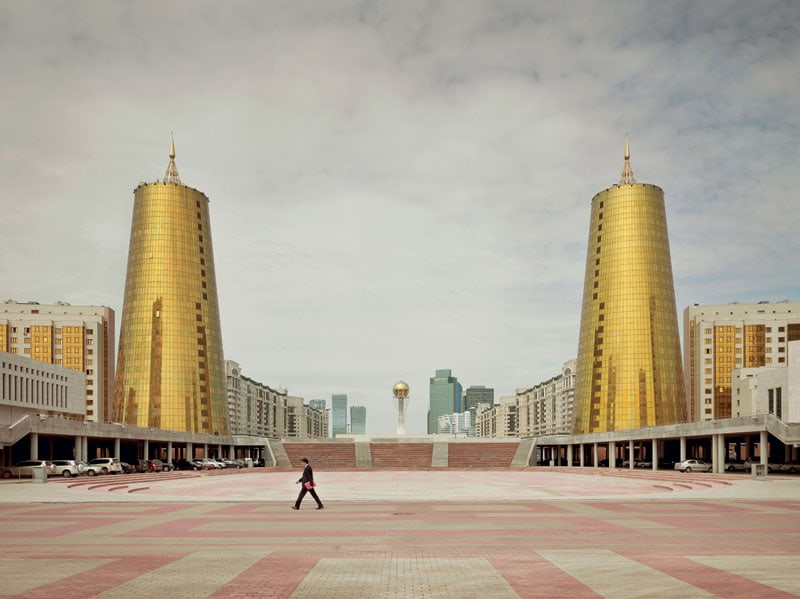 Le Twin Towers di Astana, Kazakistan.