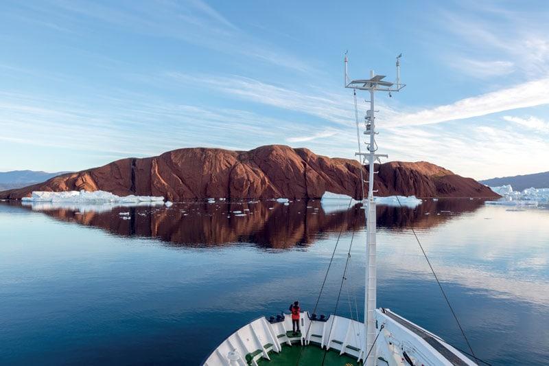 Scoresby Sund, in Groenlandia.