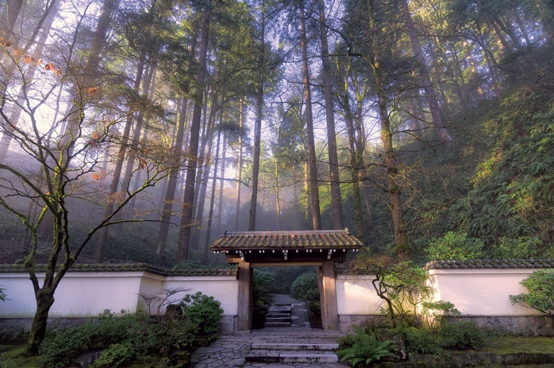 Portland Japanese Garden, Portland