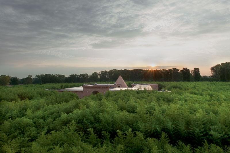 il Labirinto della Masone, a Fontanellato, provincia di Parma
