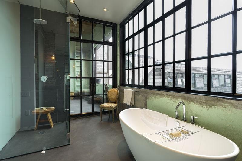 Amato Come creare un bagno in perfetto stile industriale - D - la Repubblica AD61