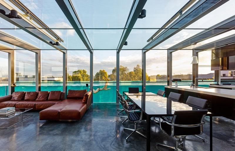 Oltre Il Soffitto Di Vetro : Case con soffitto di vetro da cui lasciarsi conquistare d la