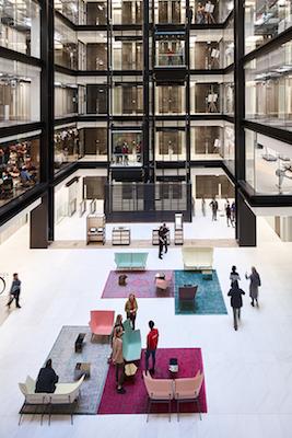 Headquarter Google, 6 Pancras Square, progetto dello studio AHMM