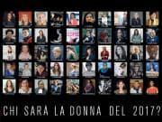 Chi sarà la donna D del 2017?