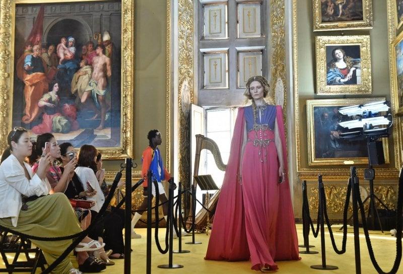 Gucci: una grande prova dentro la Galleria Palatina di Firenze