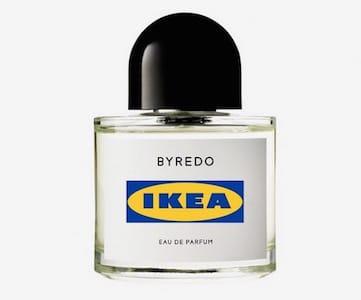 Un prototipo del profumo Ikea e Byredo