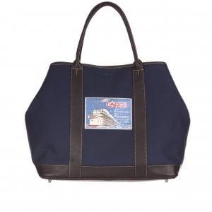 La maxi borsa di canvas