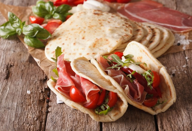 Piadina: la ricetta perfetta