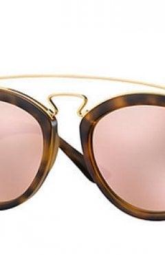 L' occhiale con lenti specchiate