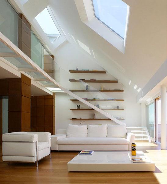 6 idee per arredare un soggiorno a doppia altezza d la for Soggiorno foto