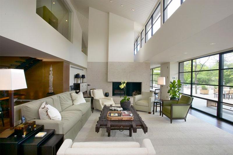 6 idee per arredare un soggiorno a doppia altezza - D - la ...