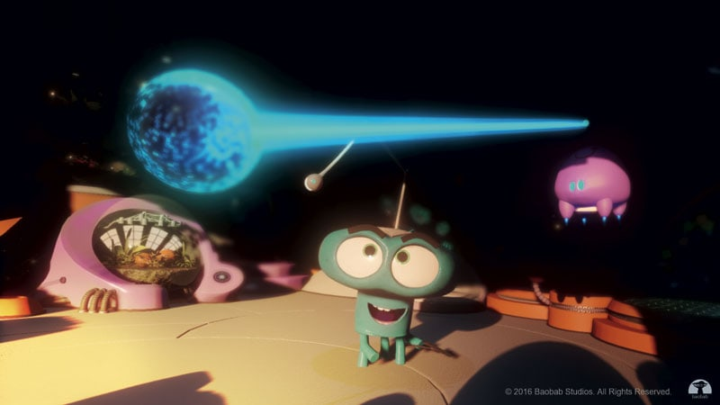 Asteroids, un cartoon in VR di Eric Damell