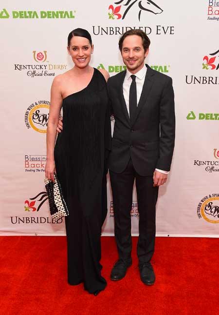 L'attrice con il marito Steve Damstra