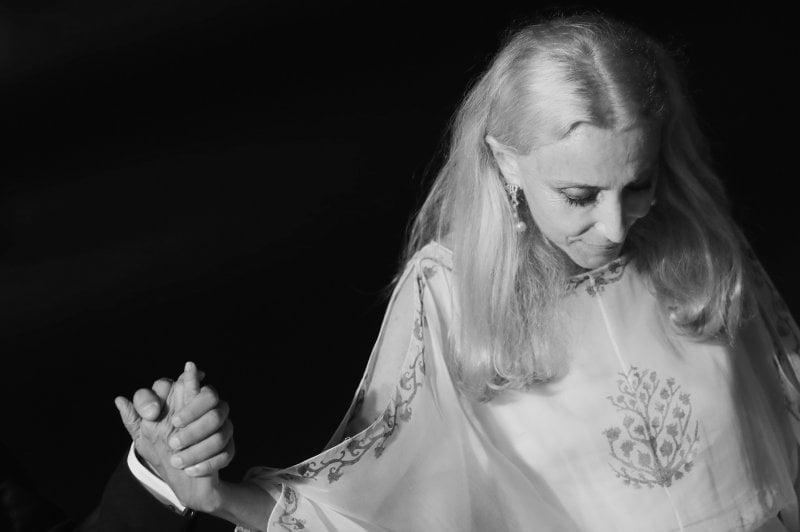 2 settembre 2016: Franca Sozzani a Venezia alla prima del film Franca - Chaos and Creation