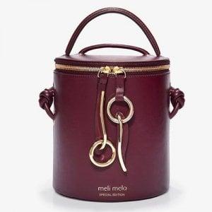 La borsa secchiello con zip