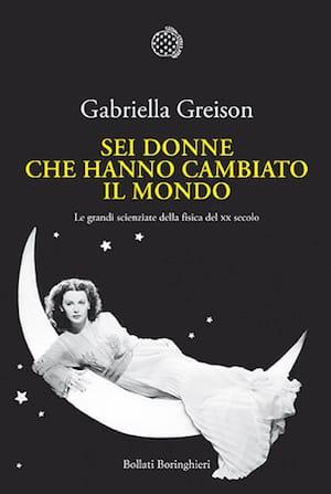 La cover del libro ritrae Hedy Lamarr in veste di attrice