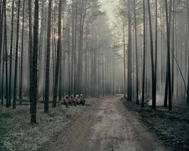 Ad Aidara i fuochi e la direzione del vento vengono sorvegliati per giorni, affinché non vadano persi legna e frutti di bosco