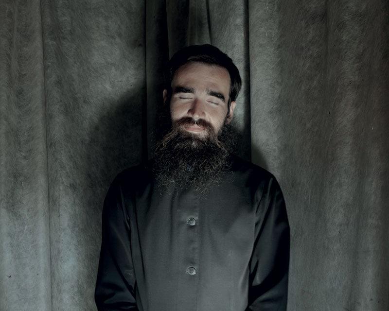 Dmitriy Polevchuk dopo la preghiera