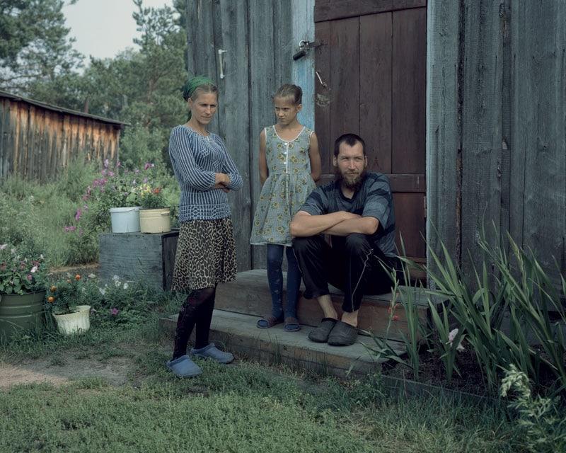la famiglia di Sergey Lobanov