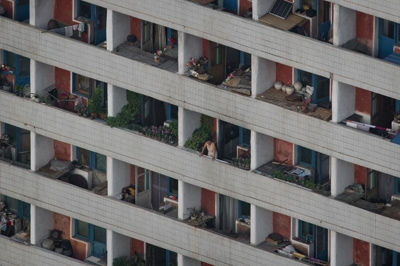 Appartamenti a Pyongyang