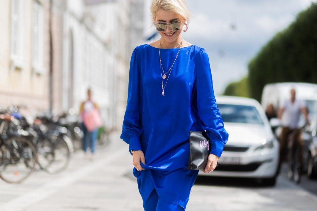 Blu, il colore dell'inverno