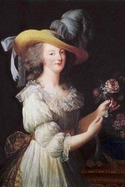 Il ritratto di Maria Antonietta opera della pittrice Élisabeth Vigée-Le Brun