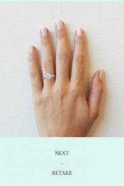L'App di Tiffany per misurare l'anello di fidanzamento