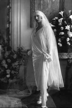 Abito da sposa, 1925