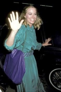 L'attrice Cybill Shepherd nel 1986 a Hollywood