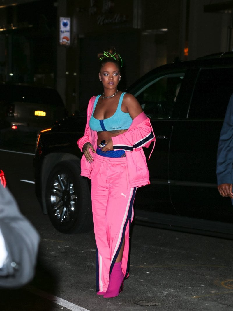 2017: Rihanna alla settimana della moda di New York