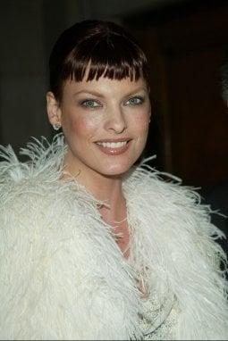 La modella Linda Evangelista negli anni '90