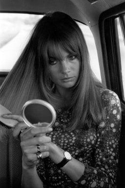 La modella Jane Shrimpton
