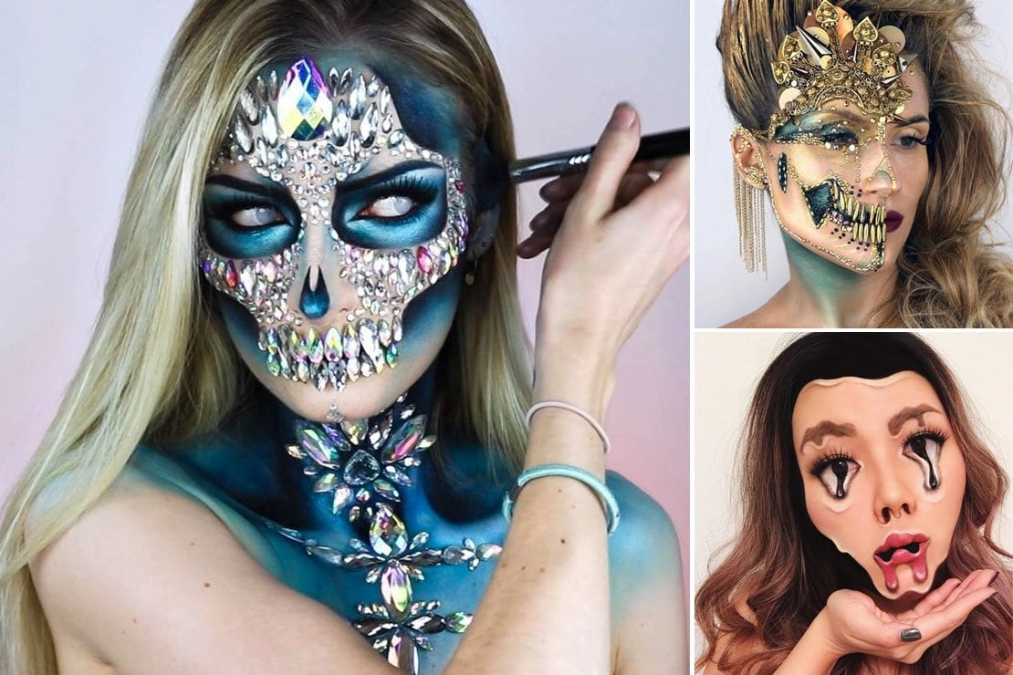 Make up di Halloween: la morte ti fa bella
