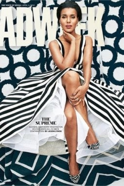 Kerry Washington sulla cover di Adweek